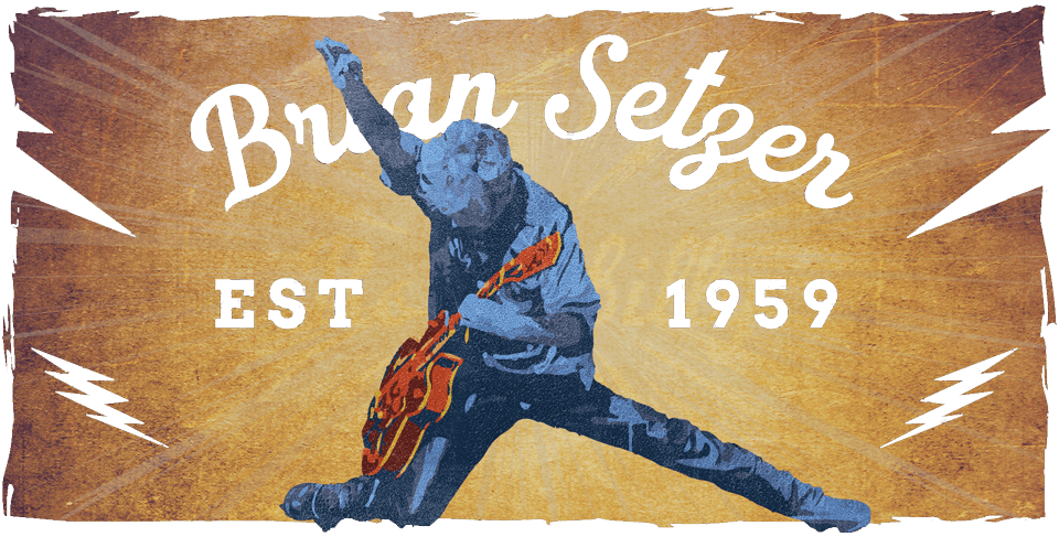 Brian Setzer Banner