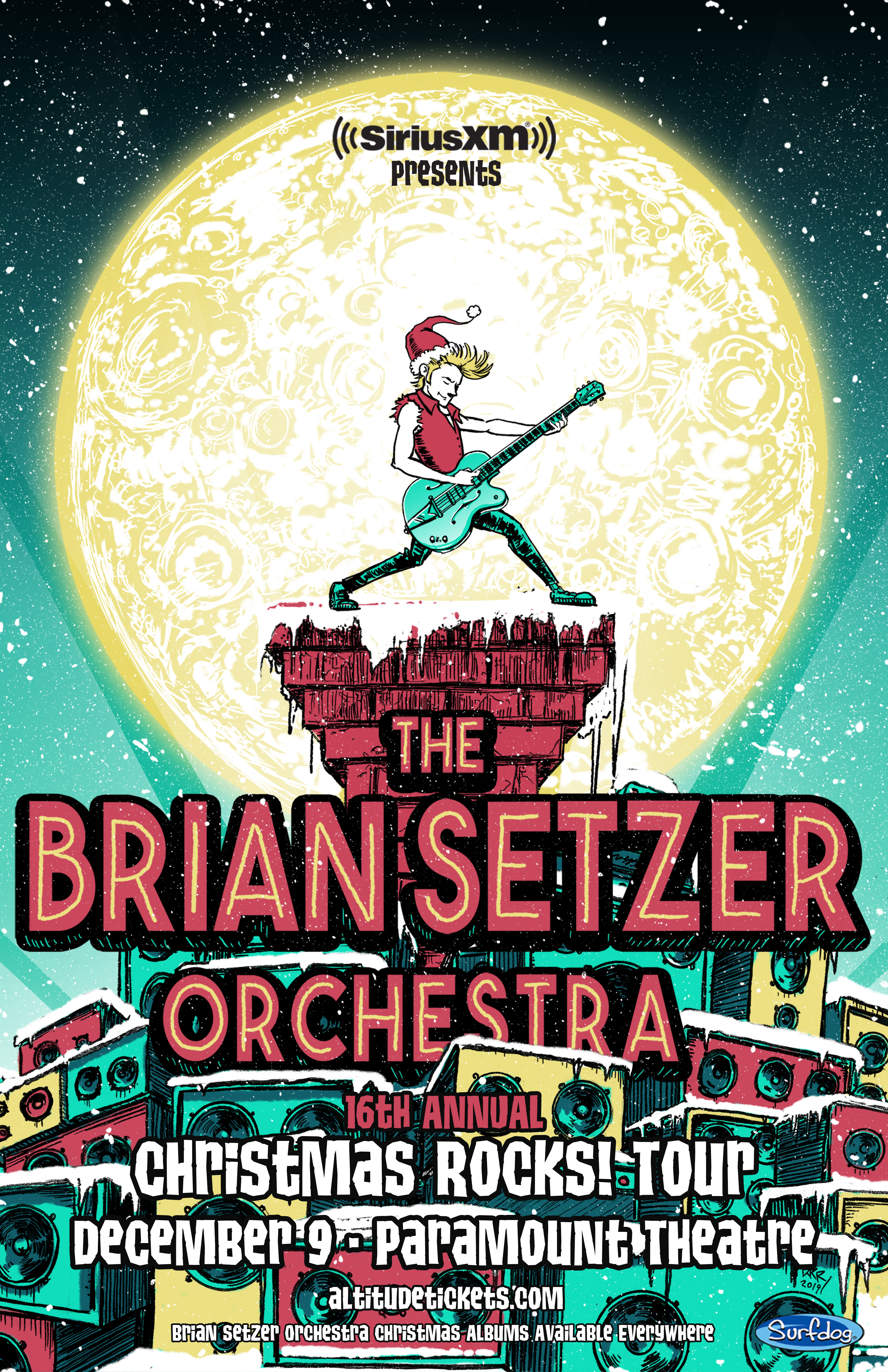 Christmas Albums Coming Out In 2019.Just Added The Brian Setzer Orchestra Is Coming To Denver